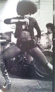 icon! betty davis rocking out kambui: Happy Birthday, Betty Davis!