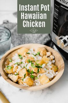 Instant Pot Pineapple Chicken Is An Easy Weeknight Dinner Recipe That Kids Will Love This Hawaiian Chicken Inspired Recipe Is Packed With Chunks Of Pineapple In A Sweet Sauce. Serve Over Rice For An Easy Meal The Whole Family Will Adore. Pineapple Chicken Recipes, Hawaiian Chicken, Instant Pot Pressure Cooker, Pressure Cooker Recipes, Easy Weeknight Dinners, Easy Meals, Dinner Recipes, Turkey Recipes, Fish Recipes