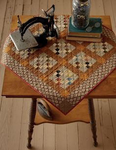 'Brown Sugar' quilts in Jo's Little Favorites III