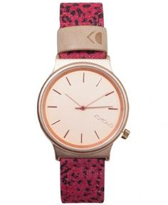 Komono - Wizard Print Watch (Red Leopard) - $75