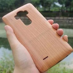 Wood Bamboo Case for LG G4 - Novelty Phone Case Cover For LG G4 Phone Case