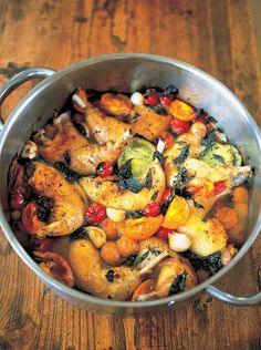 Chicken Legs with Tomatoes