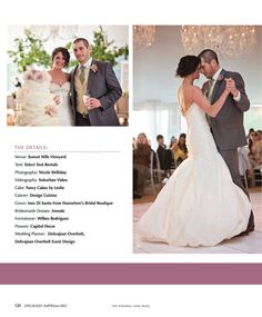 Huge spread in Engaged! Magazine, plus a COVER! – Sunset Hills Vineyard, VA | Shilliday Photography