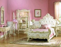 How about this french inspired bedroom?