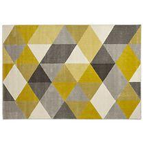 Dywan Muoto Yellow w stylu skandynawskim 230 cm, filtr