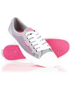 Superdry Low Pro Mesh Trainers In Light Grey Superdry Style, Adidas Sneakers, Shoes Sneakers, World Of Fashion, Luxury Branding, Trainers, Mesh, Heels, Grey