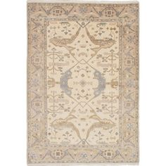 Shop for ecarpetgallery Royal Ushak Ivory Wool Rug (6'2 x 9'0). Get free shipping at Overstock.com - Your Online Home Decor Outlet Store! Get 5% in rewards with Club O!