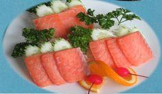 món gỏi cá hồi, món nhật ăn rất ngon