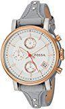 Fossil Women's ES4045 Original Boyfriend Sport Chronograph Iron Leather Watch