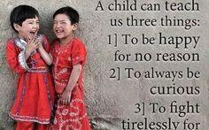 R kids the teachers of sporituality