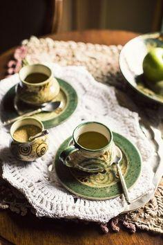 tea at luxury botique hotel La Casona / Cusco, Peru Ann Street Studio, Cider House, Irish Cottage, Victorian Cottage, Granny Smith, Tea Time, Coffee Time, Irish Coffee, Irish Tea