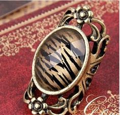 Korean Leopard Vintage Ring on BuyTrends.com, only price $4.13