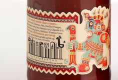 We're big fans of illustrator Steve Simpson's branding and packaging work for Irish chilli sauce company, Mic's Chilli.