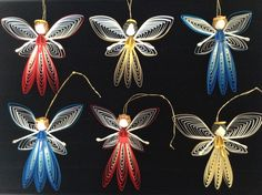 Christmas 2014 #Claudia Aguilera #Quilling #Angel                                                                                                                                                                                 More