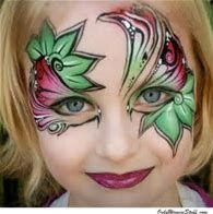 Image result for Simple Face Painting Designs For Cheeks