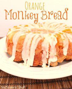 Orange Monkey Bread - It is the perfect breakfast bread!