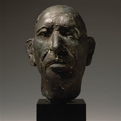 Artwork by Marino Marini, PORTRAIT OF IGOR STRAVINSKY (FIRST VERSION)