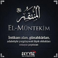 Cübbeli Ahmet Hoca: Esmaül Hüsna Resimli Türkçe Anlamları Beautiful Names Of Allah, Allah Islam, Religion, Faith, Antalya, Loyalty, Allah, Believe