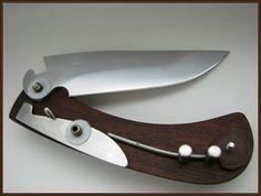 Forging Knives, Belt Knife, Urban Survival, Knife Making, Blacksmithing, Wood And Metal, Metal Working, Sword, Blade