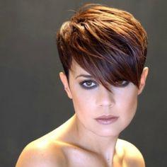 Hairstyles mit Stufen - kurzhaarfrisuren Frauen
