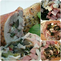Pulpe de Pui Umplute Romanian Food, Fresh Rolls, Mexican, Ethnic Recipes, Thighs, Mexicans