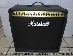 . Amplificador marshall valvestate 80v. modelo 8080