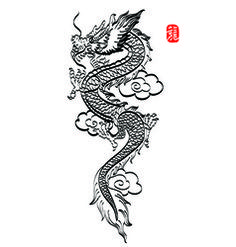 Dragon Tattoo Designs for Women - Today Pin - Dragon Tattoo Designs for Women . - Dragon Tattoo Designs for Women – Today Pin – Dragon Tattoo Designs for Women – – - Dragon Thigh Tattoo, Small Dragon Tattoos, Dragon Tattoo For Women, Chinese Dragon Tattoos, Dragon Tattoo Designs, Tattoo Designs For Women, Tattoos For Women, Tattoo Thigh, Chinese Dragon Drawing