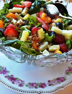 Sweetology: Fruit Frenzy Poppyseed Salad for Tea Time Tuesday