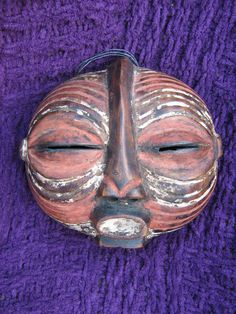 Passport mask - LUBA, Kifwebe - D.R Congo
