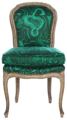 Emerald, Malachite Chair, Emerald Color of 2013, InStyle Decor Beverly Hills