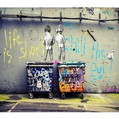 Details about street art print CANVAS QUALITY graffiti large banksy andy baker…