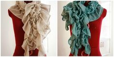 Diy - Make a Catch and Release Scarf, if you can't find the color fabric, dye it
