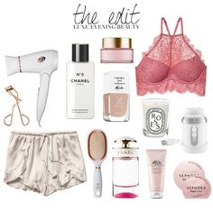 Details of a luxurious evening beauty routine on http://MoneyCanBuyLipstick.com…