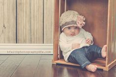 Crochet Pattern for Sophia Beanie Hat - 5 sizes, baby to adult - Welcome to sell finished items - pinned by pin4etsy.com