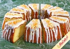 Babka serowo-cytrynowa » Przepisy na ciasta i desery - Mojeciasto.pl | Kasia Polish Desserts, Polish Recipes, Polish Food, Sweet Recipes, Cake Recipes, Polish Easter, Different Cakes, Easter Recipes, No Bake Cake
