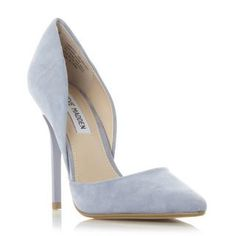 STEVE MADDEN VARCITYY SM - Open Side Pointed Toe Court Shoe - blue | Dune Shoes Online