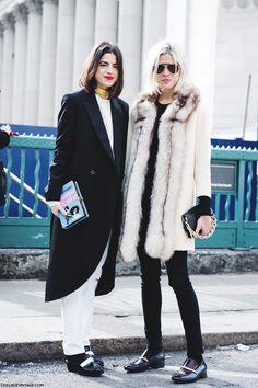 Leandra Medine & Emily Weiss