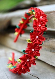 Pequeña flor corona San Valentín la venda venda de flores