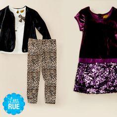 For Budding Fashionistas: Trendy Girls' Clothing. #LittleRue