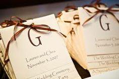 diy wedding programs - Google Search