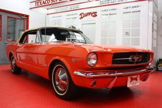 Contrary to popular belief, the first model year for the Ford Mustang was 1965. That said, Mustangs produced between March 9th and July 31st of 1964 are often coined the 1964 ½ Ford Mustang by enthusiasts.