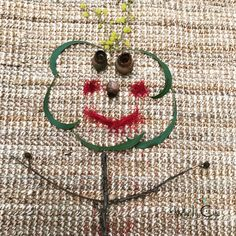 Another little creature made form sticks, bottlebrush flowers, gum nuts and wildflowers. Bottlebrush, Learning Through Play, Wildflowers, Early Childhood, Ivy, Sticks, Dream Catcher, Competition, Creatures