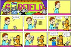 Garfield | Daily Comic Strip on October 4th, 2009
