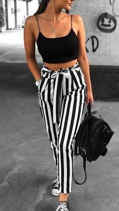cute outfit ideas for summer, casual summer outfit ideas, Preppy Summer Outfits, Cute Casual Outfits, Stylish Outfits, Really Cute Outfits, Pretty Outfits, Teen Fashion Outfits, Girl Outfits, Dress Outfits, Pantalon Large