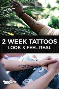 inkbox: the 2 week tattoo 300+ Designs at inkbox.com
