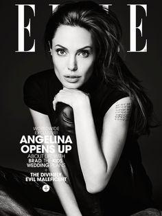 Angelina Jolie on @ELLE Magazine (US)