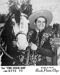 The Cisco Kid is  an American Western television series starring Duncan Renaldo in the title role, The Cisco Kid, and Leo Carrillo as the jovial sidekick, Pancho. Cisco and Pancho were technically desperados, wanted for unspecified crimes, but instead viewed by the poor as Robin Hood figures who assisted the downtrodden when law enforcement officers proved corrupt or unwilling to help. It was also the first television series to be filmed in color, although few viewers saw it in color til…