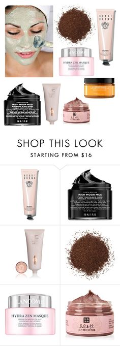 """""""Untitled #402"""" by dhanveeganatra ❤ liked on Polyvore featuring beauty, Bobbi Brown Cosmetics, Peter Thomas Roth, Lancôme, Ole Henriksen and facemasks"""
