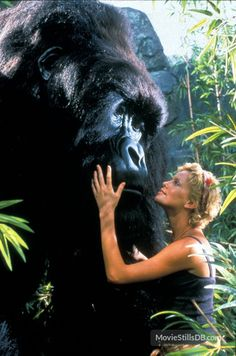 Mighty Joe Young publicity still of Charlize Theron