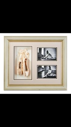 Ballet shoes and picture